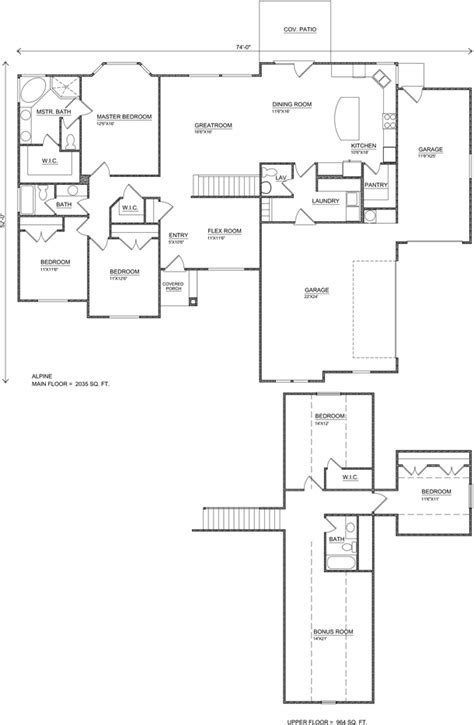 alpine frog plan small perry homes southern utah