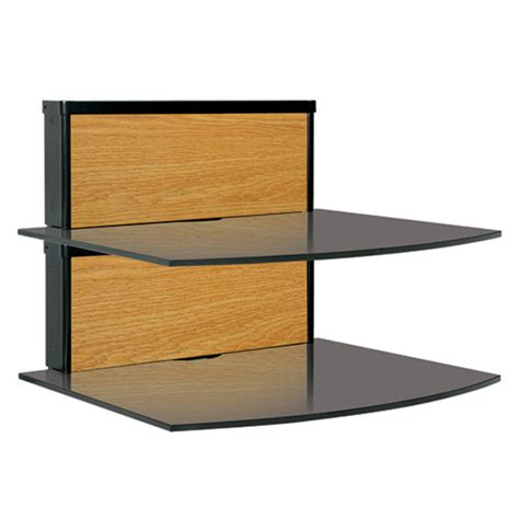 Component Shelf System by Components Bello Two Shelf Component Wall System By Tech Craft Shopentertainmentcenters