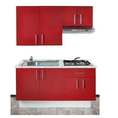 cocina integral minimalista  gabinete alacena