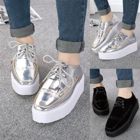 Haan Soft 1 5kg stitched lace up oxfords shoes creepers thick sole