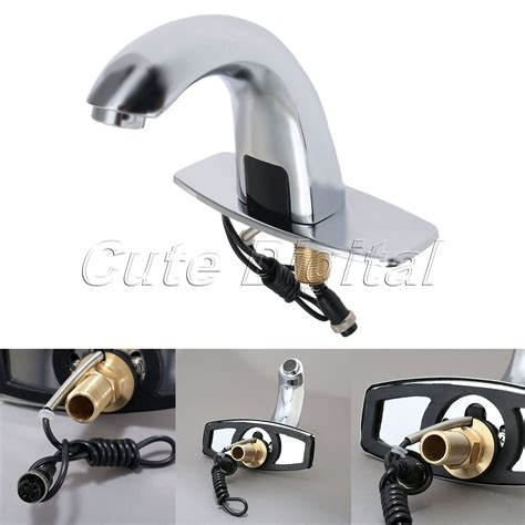 Kran Wastafel Automatic Sensor Touchless Basin Faucet Bathroom Sink kopen wholesale infrarood tap uit china infrarood