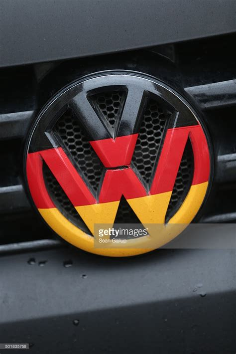 german volkswagen logo a volkswagen logo and ornament in the colors of the