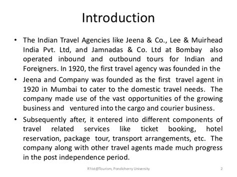 Introduction Letter For Travel Agency Business Tourism Business