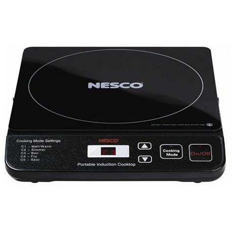 Nesco Portable Induction Cooktop - nesco pic 14 black 11 5 in electric induction cooktop ebay