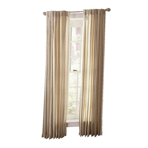 home depot drapes martha stewart living tadpole multi stripe back tab