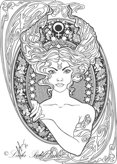 zodiac mandala coloring pages 14 best zodiac signs coloring pages images on pinterest