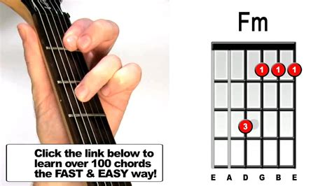 master the f chord 4 easy steps electric acoustic guitar lessons how to play fm guitar chord beginners acoustic electric lesson