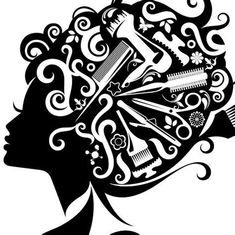 hair salon stylist cliparts