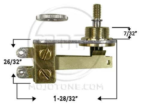 mojo switches 187 switchcraft l type 3 way toggle switch