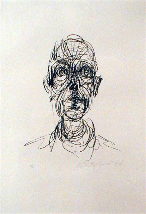Sketches For Class 6 by Giacometti Drawing We Learned About Him In My Drawing