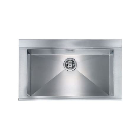 cm anthea 86x51 kitchen sink 1 bowl brushed stainless