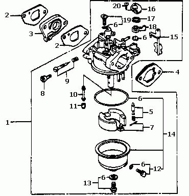 small engine carburetor diagram plano power equipment store honda hr194 hr214