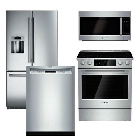 bosch kitchen appliance packages package b3 bosch appliance package 4 piece appliance