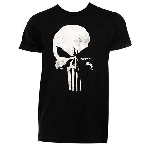 punisher s black 3d logo t shirt superheroden