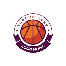 Free Basketball Logo Designs Designevo Logo Maker Basketball Team Logo Template