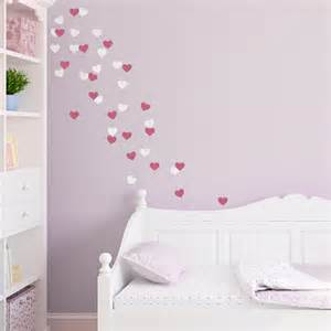 Hearts Wall Stickers Heart Fetti Wall Decal