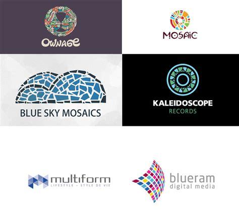mosaic pattern logo mosaic patterns in logo design branding logo