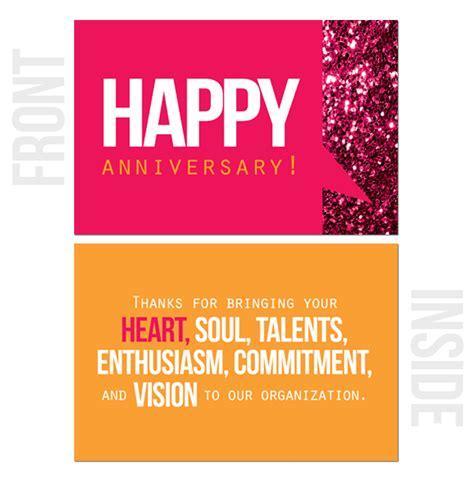 printable work anniversary cards happy work anniversary cards