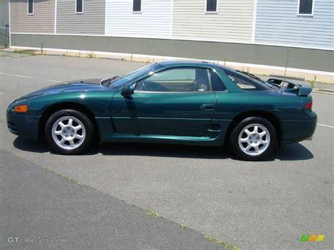 mitsubishi green 1996 panama green pearl mitsubishi 3000gt coupe 12799273