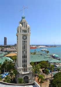Bed And Breakfast Oahu Aloha Tower From Cruise Ship Deck Picture Of Aloha Tower