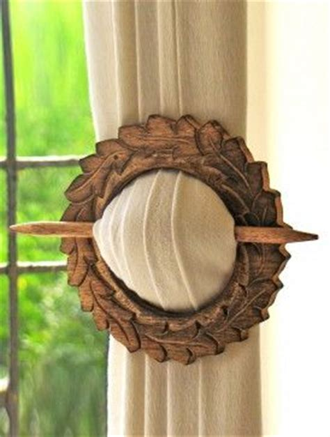 wooden curtain holders 25 best ideas about curtain holder on pinterest brown