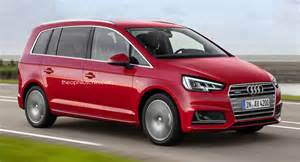 fresh renderings of audi badged compact minivan