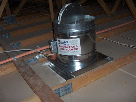 roof mounted exhaust fan the gf 14 garage fan and attic cooler buy direct