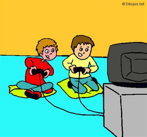 imagenes infantiles de niños jugando a color dibujo de ni 241 os jugando pintado por maykol en dibujos net