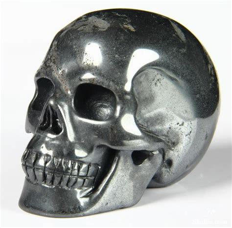 hematite skull 2 7 quot hematite carved skull realistic skullis