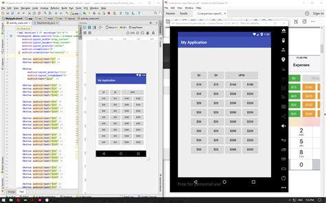 grid layout android studio android studio grid layout is never the same stack overflow