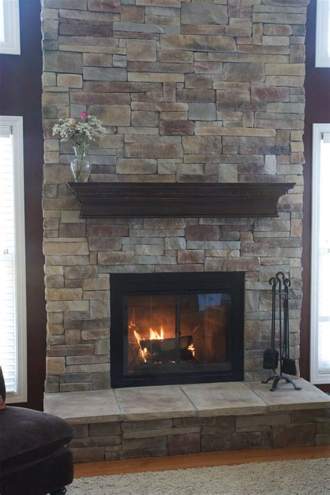 Rocks For Fireplace by Fireplaces Exteriors Did You You Can Cover Your Existing