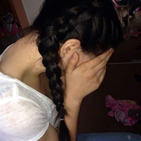 braids with bolding center part hair in the middle then to 2 dutch braids going all