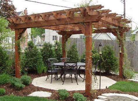 pergola we are in the process of building ours at lake
