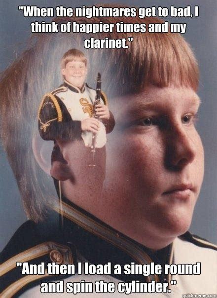 Clarinet Kid Meme - ptsd clarinet boy memes quickmeme