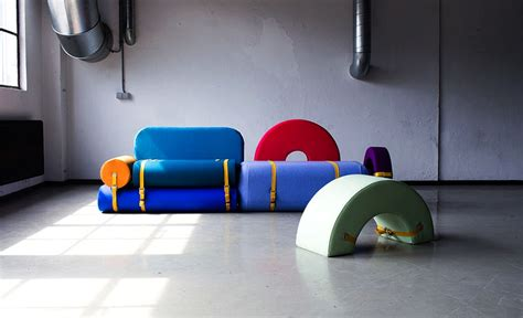 how to shape upholstery foam colorful foam blocks morph into different furniture