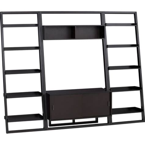 crate and barrel ladder desk shelf ideas feelings and bookcases on pinterest
