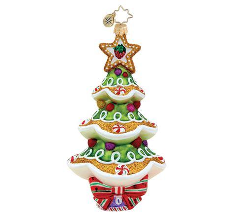 christopher radko christmas ornament sweet spruce