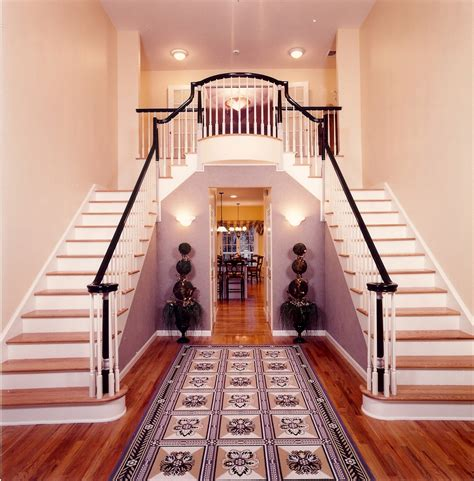 Living Room Dining Room Paint Colors Double Staircase Entry Terri Mc Ray Archinect