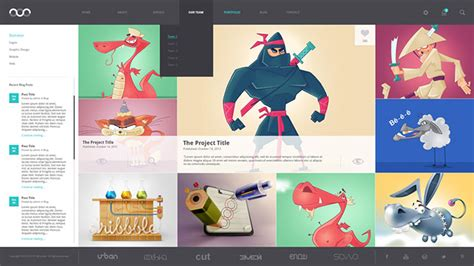 8 Creative Free Portfolio Psd Web Templates Web Graphic Design Bashooka Creative Graphic Design Layout Templates