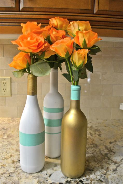 Wine Vase by Wine Bottle Vases