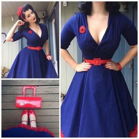 Robe Retro Femme Ronde - robe pin up femme ronde