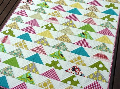 modern flying geese quilt ideas
