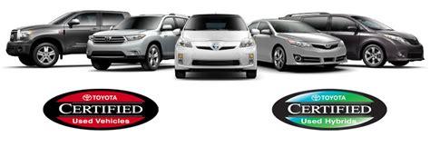 Toyota Certification Program Toyota Certification Program Toyota Of Huntington