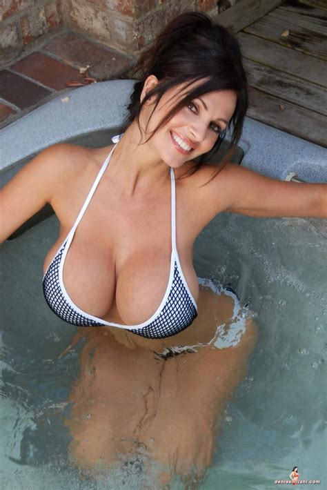 sexy in bathtub photoplus gallery denise milani photos