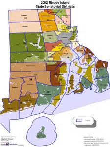 districts map state senate district maps warwick rhode island