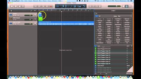 Garageband Track Garageband 10 0 Splitting Cutting And Looping Tracks