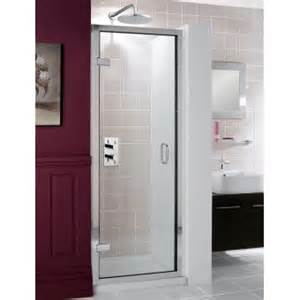 hinged shower doors with inline panels semi frameless