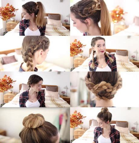 easy hairstyles for school zoella 5 easy hairstyles zoella