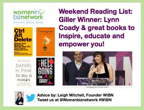 Weekend Reads Product 4 by Weekend Reading List Giller Winner Coady 4 Great