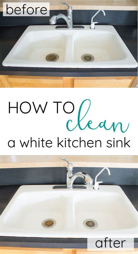 how to clean a white sink how to clean white porcelain kitchen sink kitchen sink